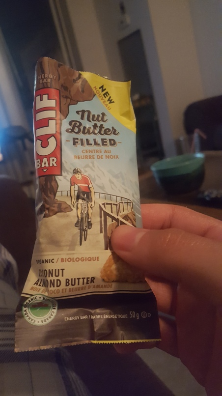 Clif Bar Nut Butter Filled