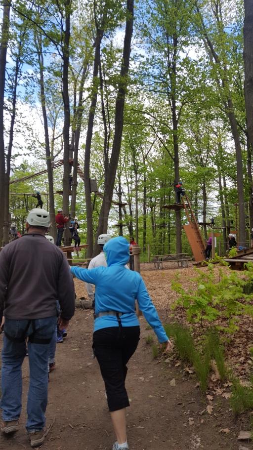 Treetop Trekking 1