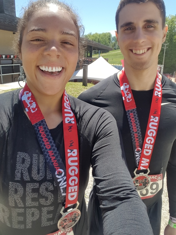 Rugged Maniac Medal Photo