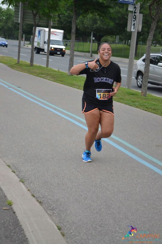 Toronto Carnival Run Race Photo